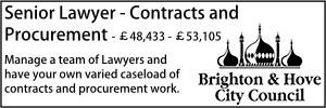 Brighton July 20 Senior Contracts