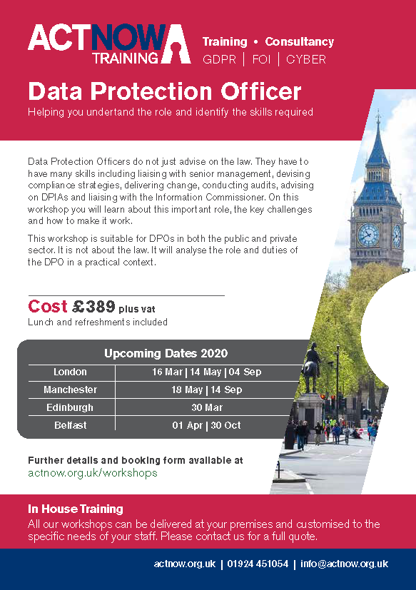 Key Skills for Data Protection Officers Page 1