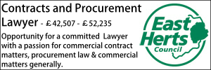East Herts Oct 20 Contracts and Procurement