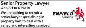 Enfield Feb 20 Senior Property Lawyer