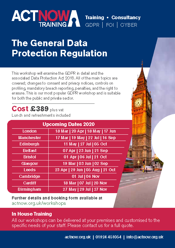 General Data Protection Regulation A to Z Page 1