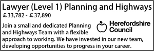 Herefordshire Planning Level 1