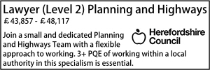 Herefordshire Planning Level 2