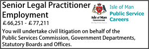Isle of Man Feb 20 Senior Legal Litigation