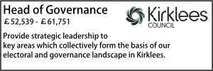 Kirklees Feb 20 Head of Governance