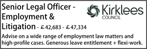 Kirklees March 20 Employment