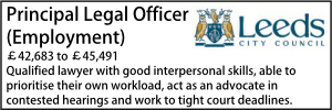 Leeds Principal Employment
