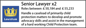Lewisham Feb 20 Senior Lawyer