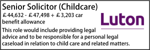 Luton May 20 Childcare
