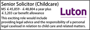 Luton Sept 20 Senior Childcare