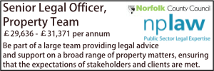 Norfolk Dec 19 Legal Officer Property