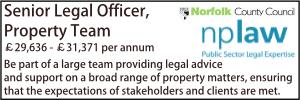 Norfolk Dec 19 Legal Officer Property