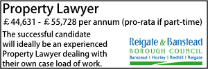 Reigate Nov 20 Property Lawyer