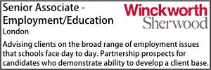 Winkworth Jan 20 Education