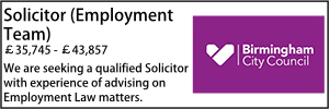 Birmingham April 21 Employment