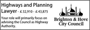 Brighton May 21 Highways Planning