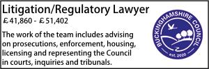 Bucks July 21 Litigation/Regulatory Lawyer