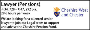 Cheshire West Jan 21 Pensions