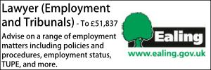 Ealing July 21 Lawyer Employment