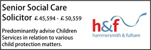 Hammersmith April 21 Social Care