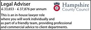 Hampshire Sept 21 Legal Adviser