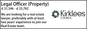 Kirklees Aug 21 Legal Officer Property