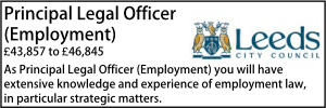 Leeds July 21 Principal Employment