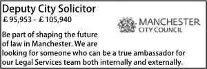 Manchester April 21 Deputy Solicitor