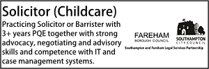 Southampton Oct 21 Solicitor (Childcare)