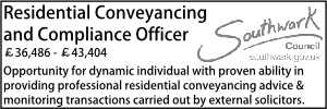 Southwark March 20 Residential Conveyancing