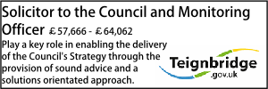 Solicitor to the Council and Monitoring Officer Teignbridge Oct 21