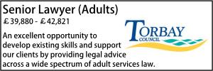 Torbay May 21 Senior Lawyer
