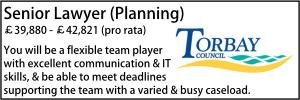 Torbay May 21 Senior Lawyer Planning