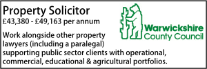 Warwickshire Sept 21 Property Solicitor