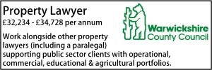Warwickshire CC Sept 21 Property Lawyer