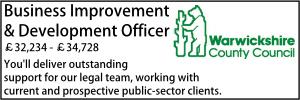 Warwickshire March 21 Business Development