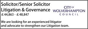 Wolverhampton June 21 Governance Litigation