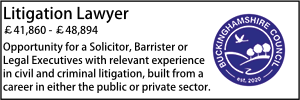 Buckinghamshire July 20 Litigation Lawyer