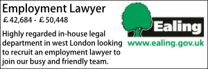 Ealing Feb 20 Employment Lawyer