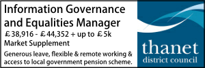 Thanet March 20 Information Governance Officer