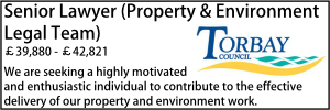 Torbay Sept 20 Senior Property Environment